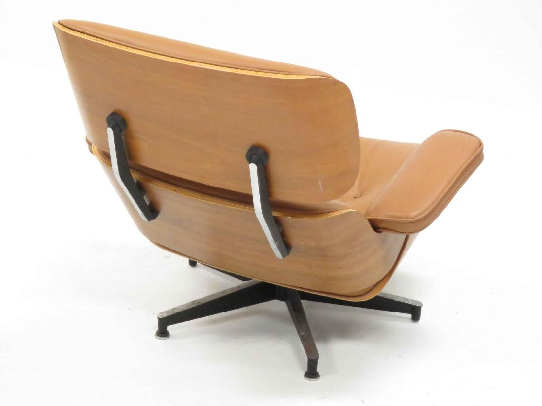 EAMES STYLE LAMINATED LOUNGE CHAIR - 3