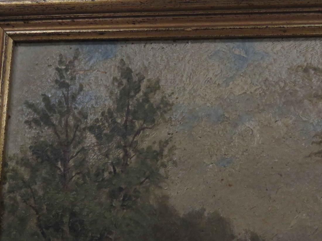 AMERICAN SCHOOL (19TH CENTURY), OIL ON ARTIST BOARD, - 2