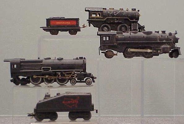 2003: LOT (5) ASSORTED STEAM ENGINES