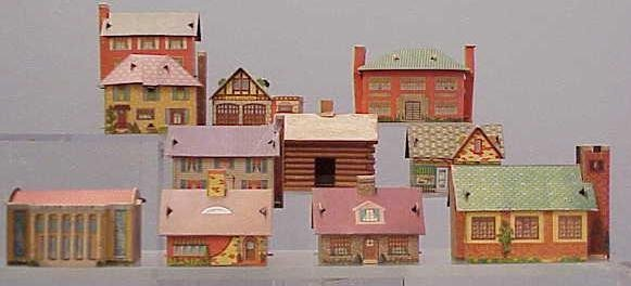 2016: LOT (10) ASSORTED HOUSES/BUILDINGS