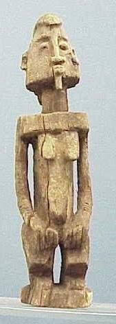 DOGON CARVED FEMALE FIGURE