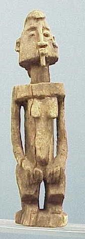 6: DOGON CARVED FEMALE FIGURE
