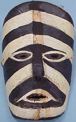 OCEANIC CARVED/PAINTED MASK