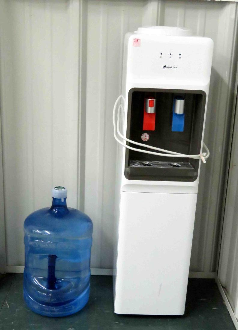 AVALON HOT/COLD WATER DISPENSER WITH NEW BOTTLE
