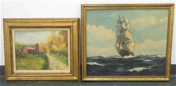 LOT 2 INCLUDING HENRY MURPHY AMERICAN 20TH CENTURY