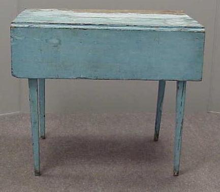 7: HEPPLEWHITE CHERRY PTD DROP-LEAF TABLE