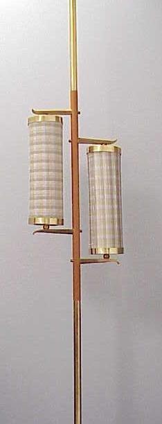11: MID CENTURY MODERN STIFFEL POLE LAMP