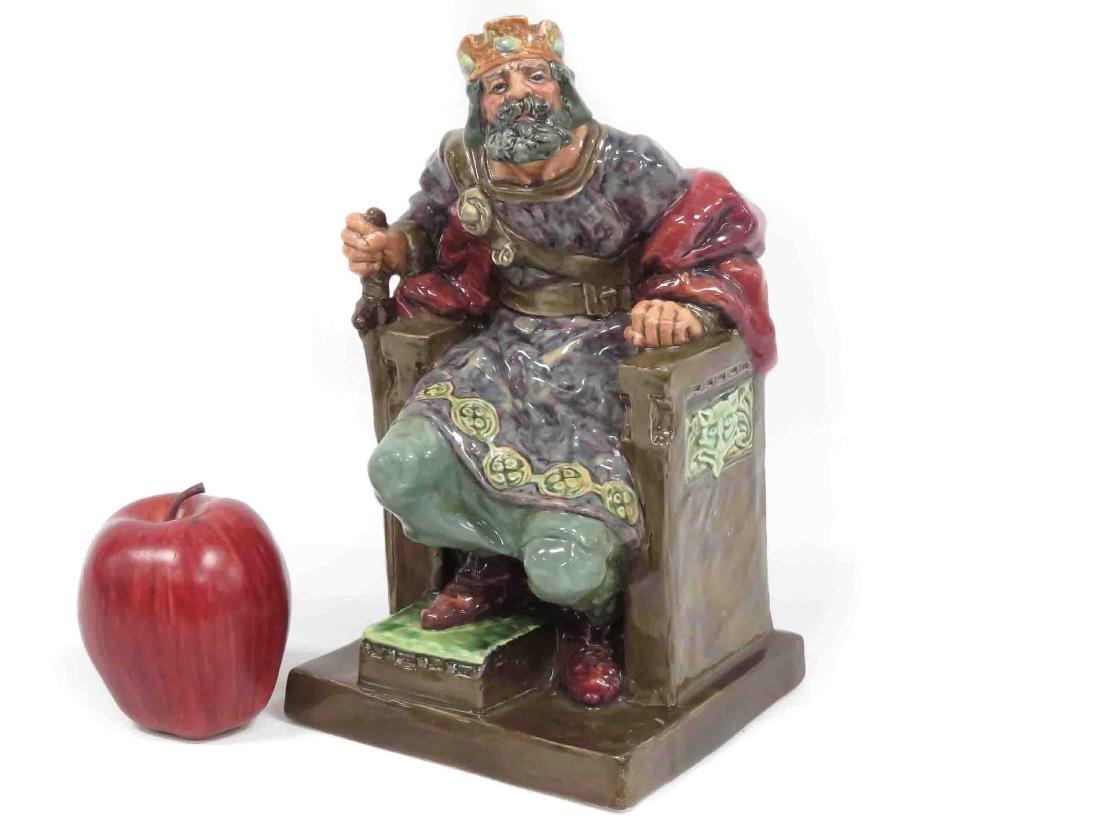 "ROYAL DOULTON PORCELAIN FIGURE, ""THE OLD KING"", HN"