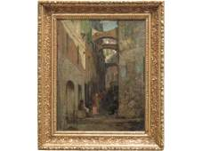 WALTER FREDERICK OSBORNE (ENGLISH 1859-1903) OIL ON