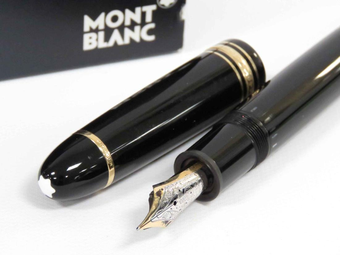 LOT (2) INCLUDING MONT BLANC MEISTERSTUCK #149 FOUNTAIN - 2