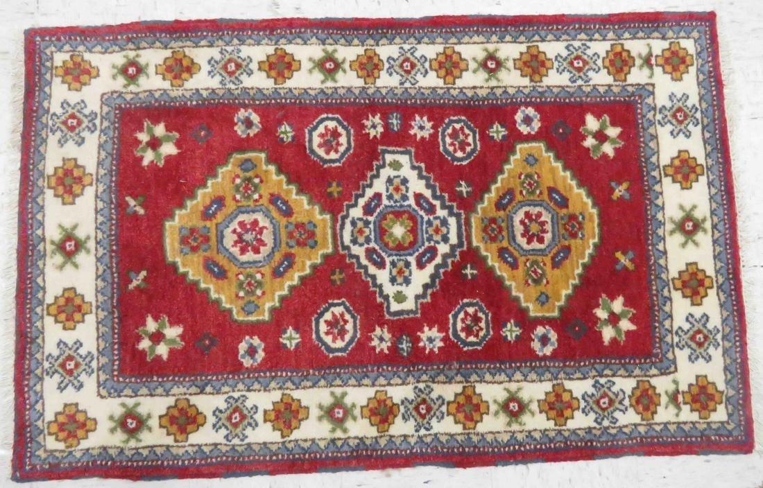 KAZAK RUG. 5' X 3'