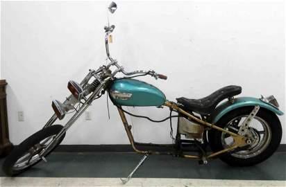 TRIUMPH BONNEVILLE CHOPPER MOTORCYCLE INCLUDING FRAME &
