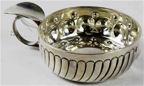 FRENCH 950 SILVER WINE TASTER, LOUIS CORGNET,