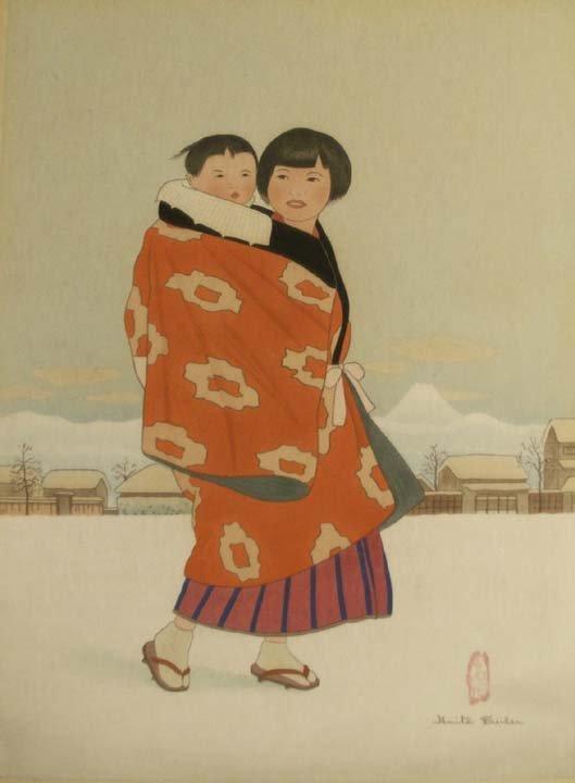 2004: JAPANESE WOODBLOCK PRINT