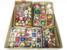 LARGE LOT CHRISTMAS ORNAMENTS & CANDLE CLIPS