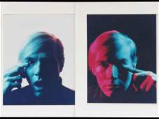 ANDY WARHOL AMERICAN 19281987 LOT 2 CIBACHROME