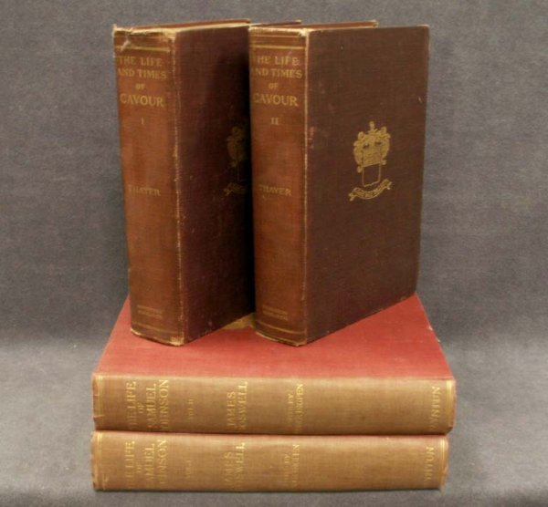 12: LOT (4) VOLUMES (2) LIFE OF SAMUEL BOSWELL