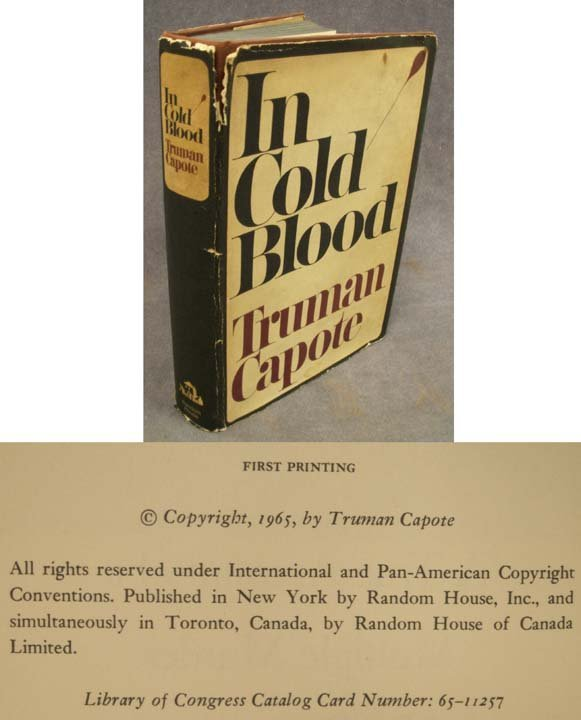 13: VOLUME - IN COLD BLOOD, TRUMAN CAPOTE
