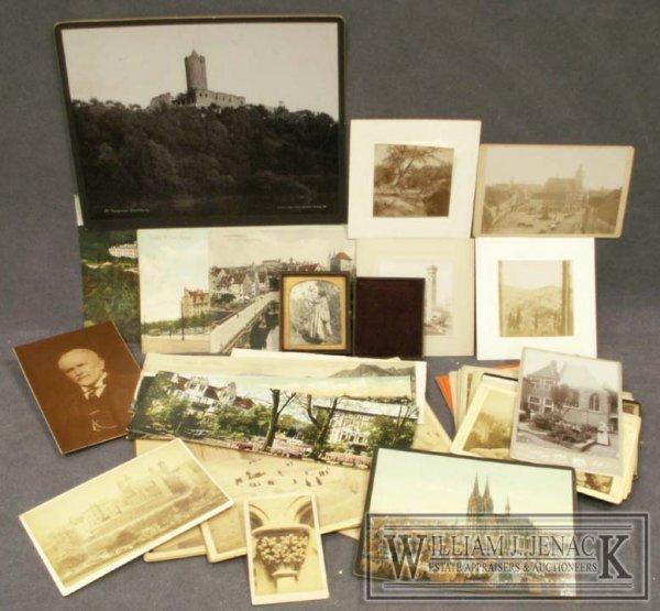 1002: LOT ASSORTED VINTAGE ALBUMEN PHOTOS, CABINET CARD