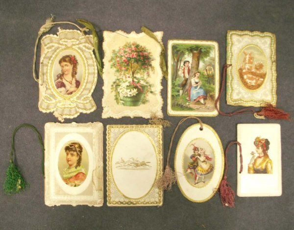 1098: LOT (8) ASSORTED PROGRAMS & DANCE CARDS 1871-1872