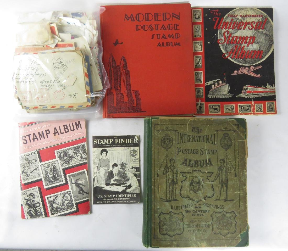 LOT ASSORTED US/INTERNATIONAL STAMPS, STAMPED COVERS,