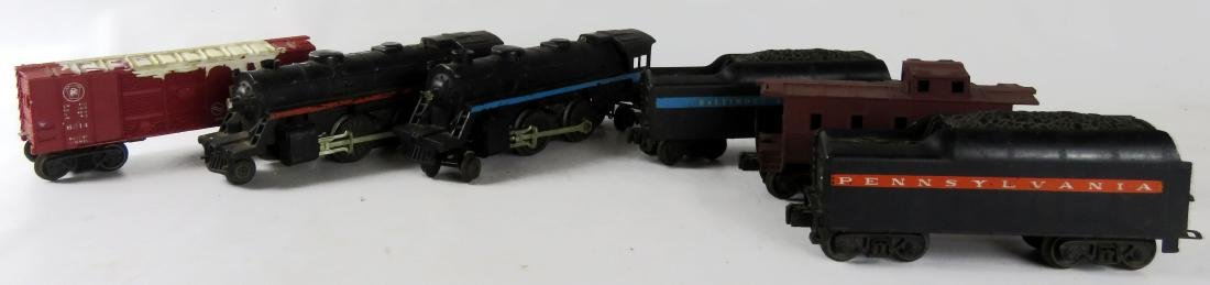 "VINTAGE LIONEL ""O-27"" GAUGE TRAINS INCLUDING #247 &"