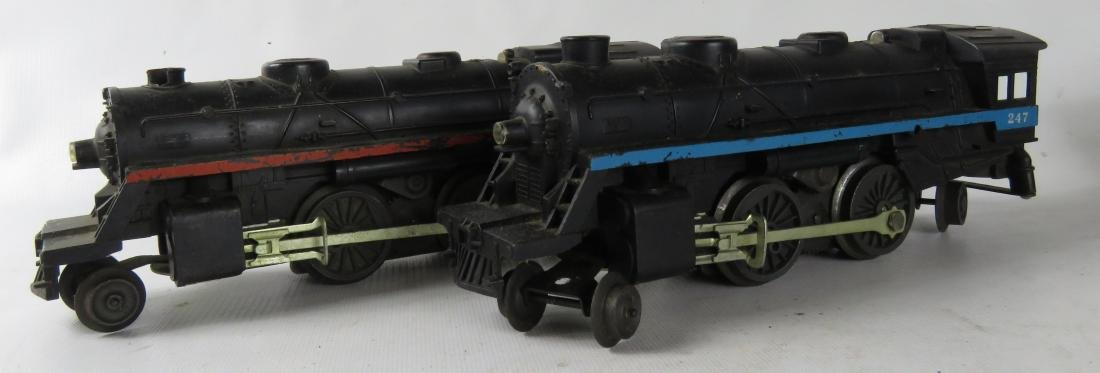 "VINTAGE LIONEL ""O-27"" GAUGE TRAINS INCLUDING #247 & - 2"