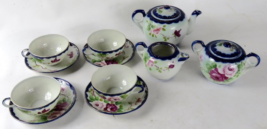 SET NIPPON DECORATED PORCELAIN TEA SET