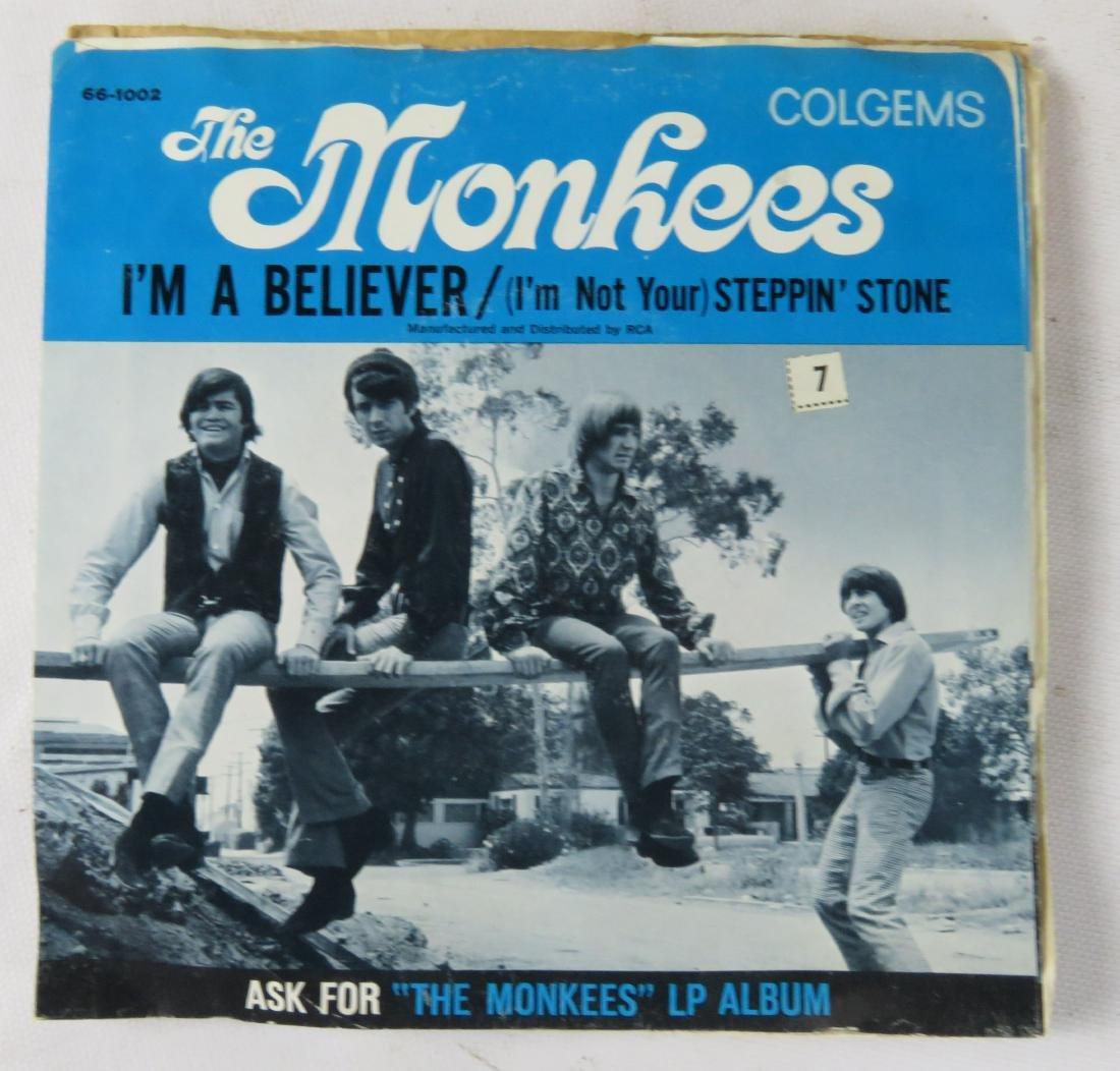 LOT (2) BOXES VINTAGE 45 RPM RECORDS, C.1960'S - 4