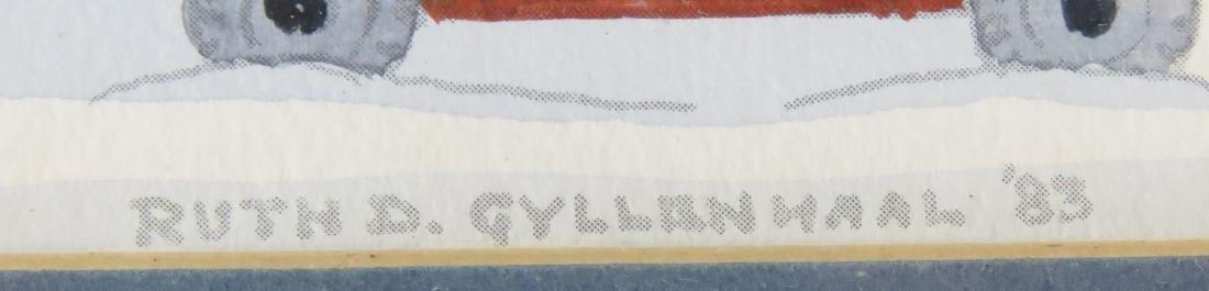 RUTH D. GYLLENHAAL (AMERICAN 20TH CENTURY), WATERCOLOR - 2