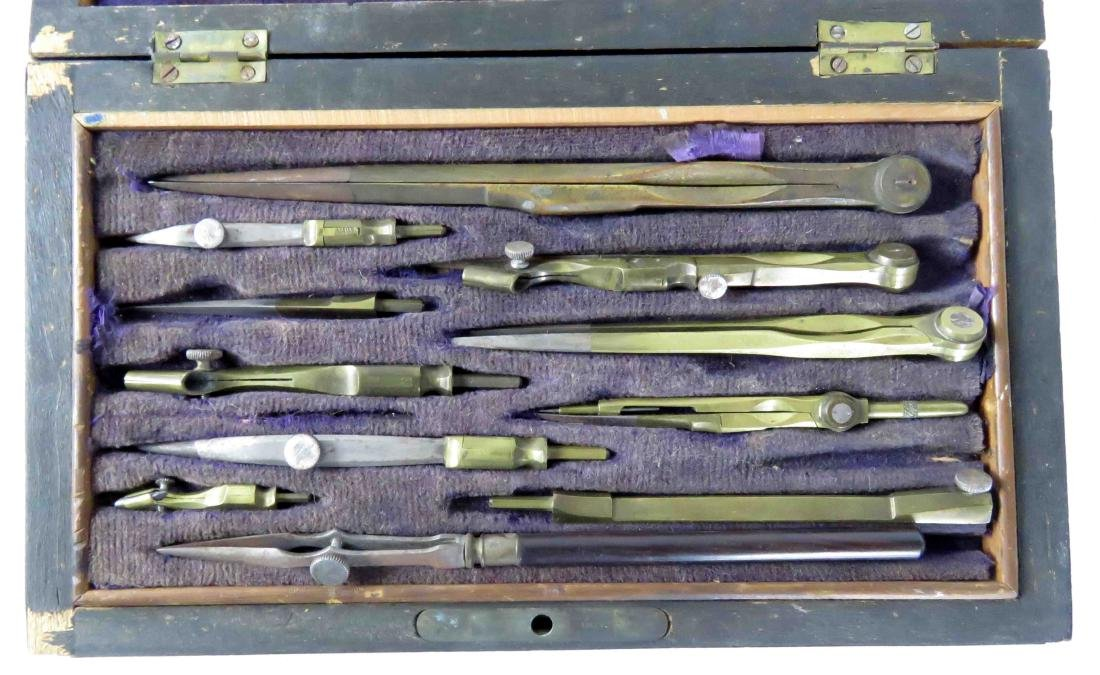 LOT (2) CASED SURVEY TOOLS & X-ACTO TOOLS - 2