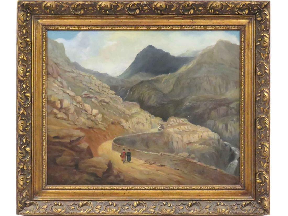CONTINENTAL SCHOOL (19TH CENTURY) OIL ON CANVAS,