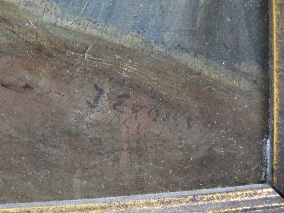 CONTINENTAL SCHOOL (19TH CENTURY) OIL ON CANVAS, - 2