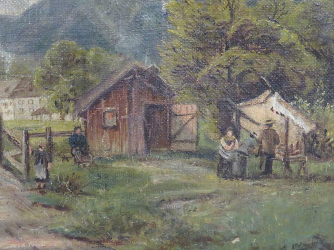 CONTINENTAL SCHOOL (19/20TH CENTURY) OIL ON CANVAS, - 2