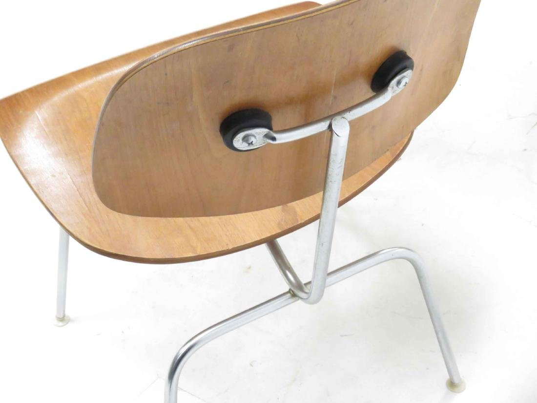 PAIR CHARLES EAMES FOR HERMAN MILLER DCM PLYWOOD SIDE - 2