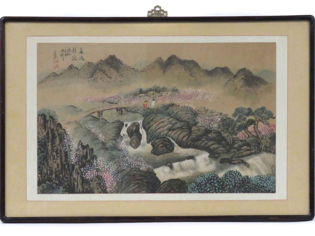 CHINESE SCHOOL (20TH CENTURY), WATERCOLOR AND GOUACHE,