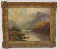 THOMAS BLAKE (ENGLISH/AMERICAN 1890-), OIL ON CANVAS,