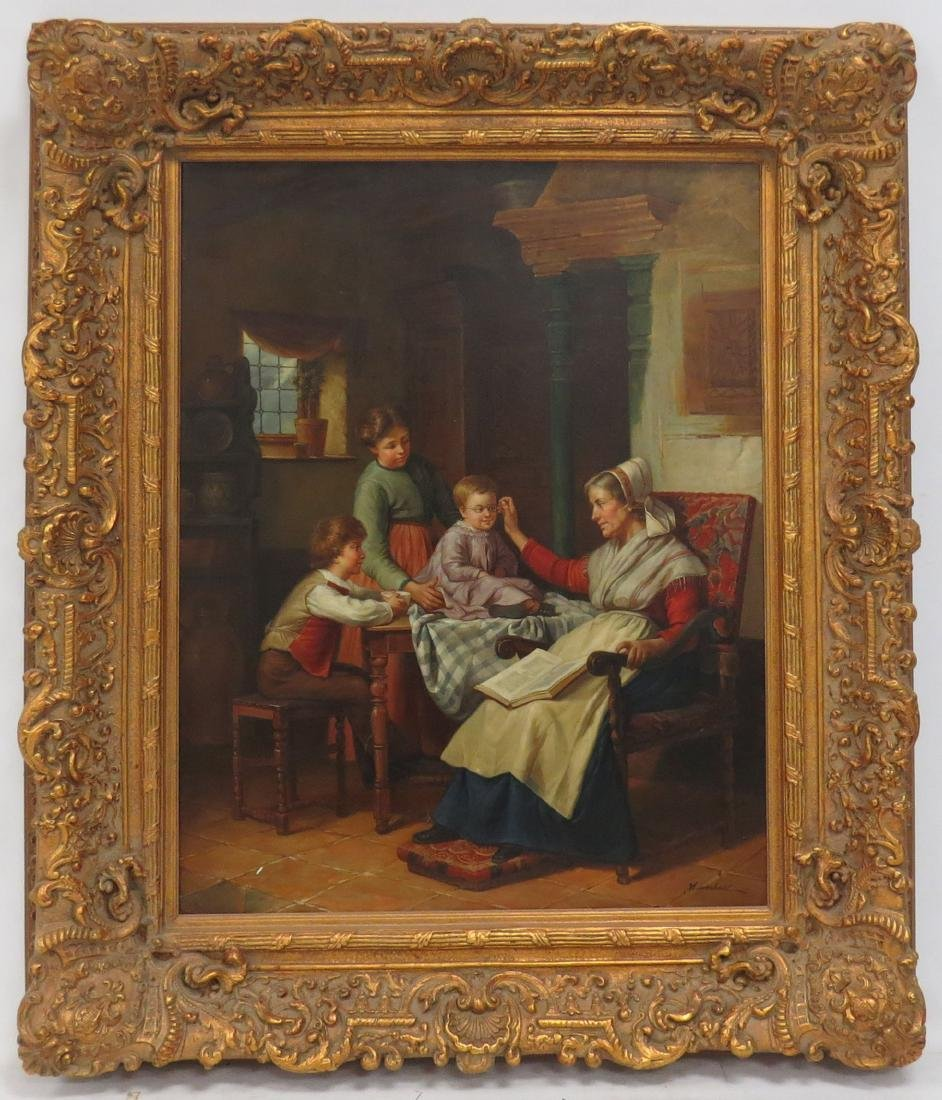 CONTINENTAL SCHOOL (20TH CENTURY), OIL ON CANVAS, THE