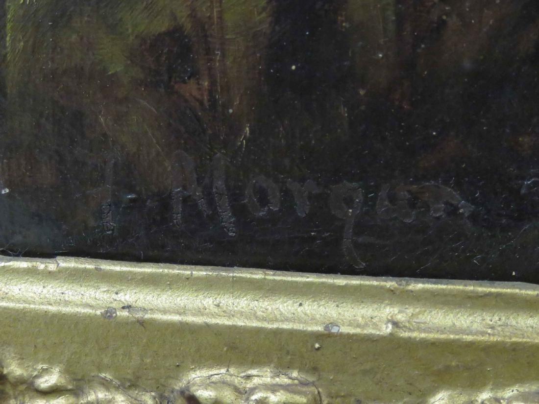 EUROPEAN SCHOOL (20TH CENTURY), OIL ON CANVAS, - 3