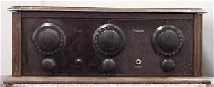 PREMIER ENSEMBLE BAKELITE RADIO
