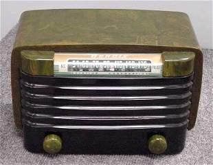 BENDIX GREEN/BLACK CATALIN RADIO
