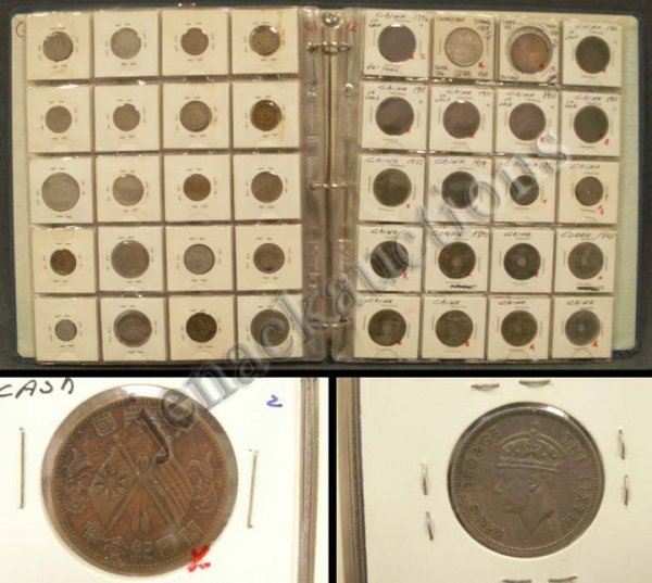 1001: LOT (110) ASSORTED FOREIGN COINS