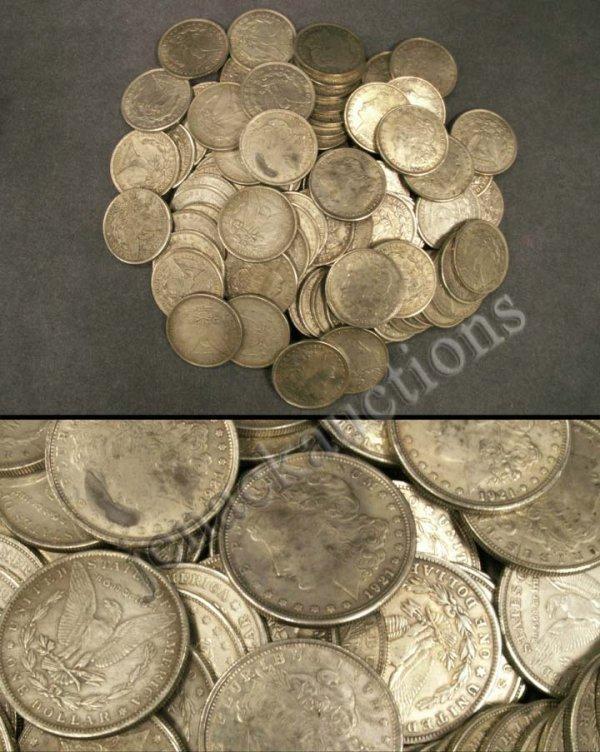 1017: LOT (86) REPLICA MORGAN STYLE DOLLAR COINS