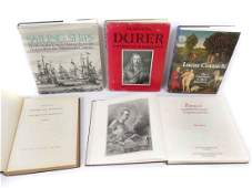 LOT (5) VOLUMES INCLUDING DURER'S COMPLETE WOODCUTS,