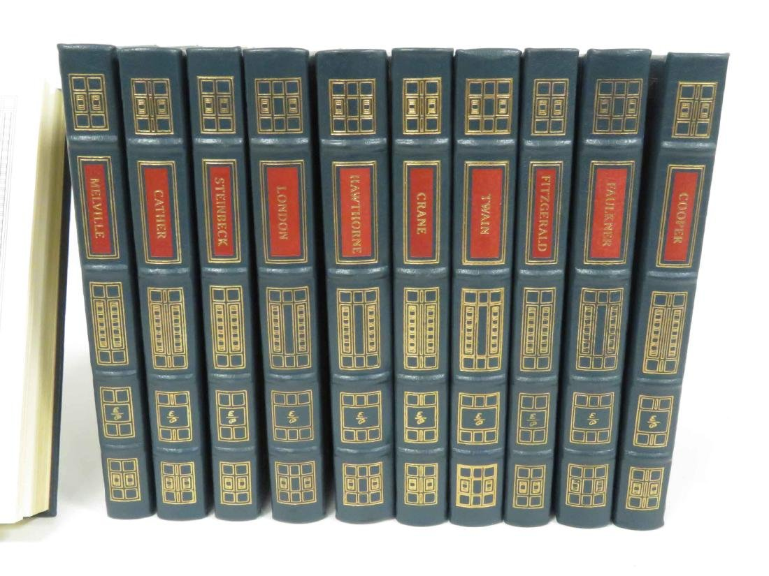 LOT (11) EASTON PRESS TOOLED LEATHER BOUND VOLUMES, - 2