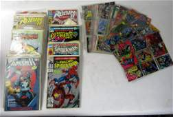 2 BOXES INCLUDING VINTAGE COMIC BOOKS  COLLECTOR