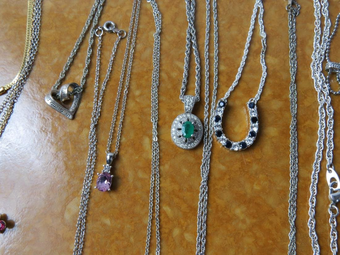 ASSORTED LOT (24) COSTUME JEWELRY NECKLACES - 2