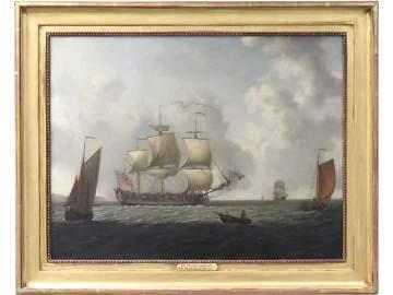 FRANCIS SWAINE (UNITED KINGDOM 1720-1782), OIL ON