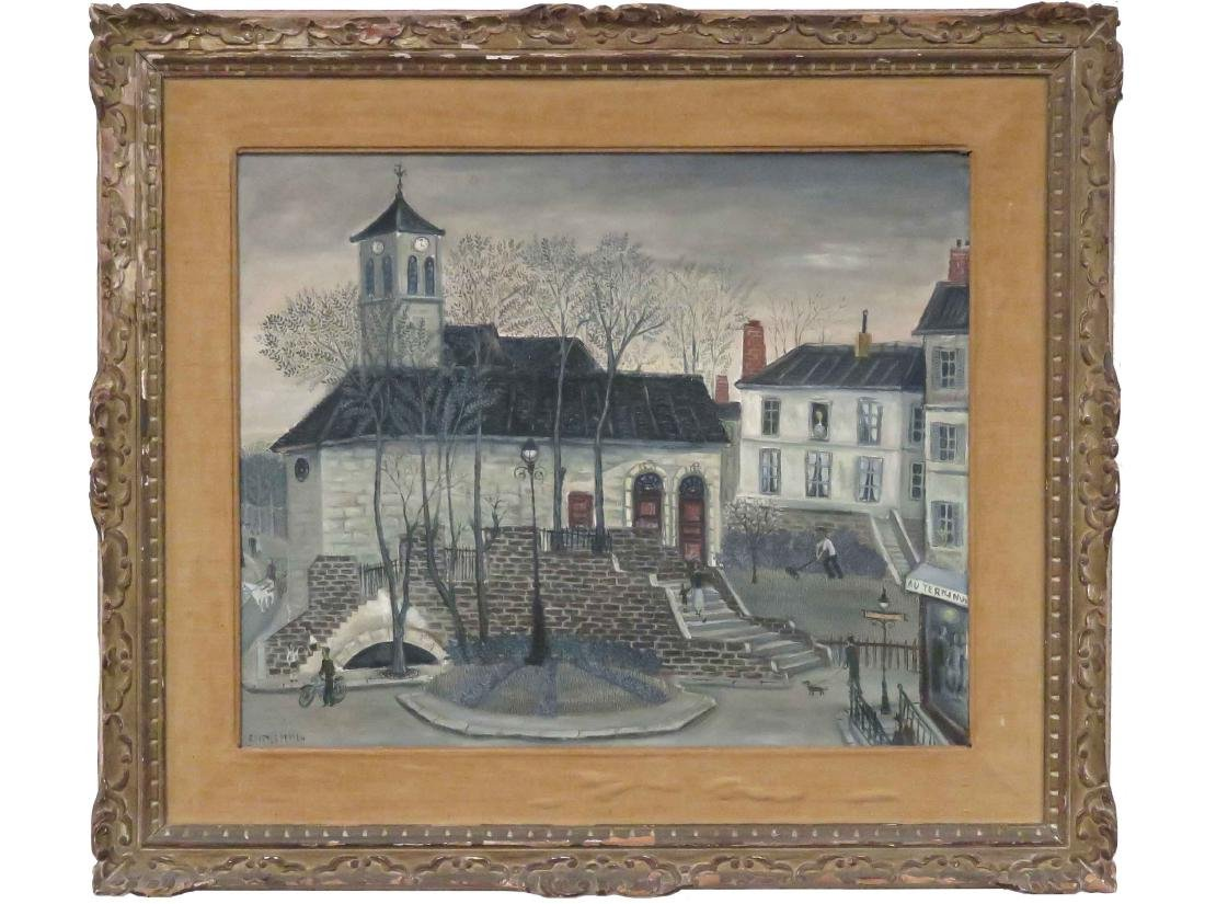 JEAN RAFFY LE PERSAN (FRENCH 1920-2008), OIL ON CANVAS,