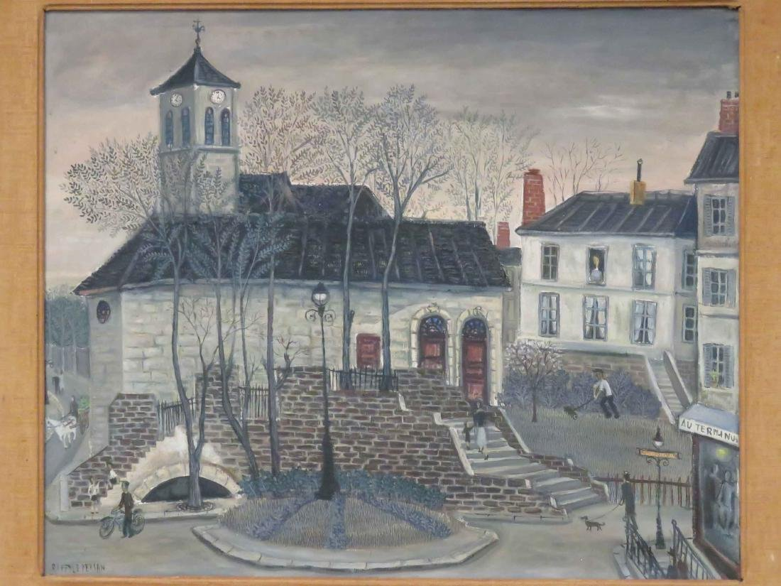 JEAN RAFFY LE PERSAN (FRENCH 1920-2008), OIL ON CANVAS, - 2